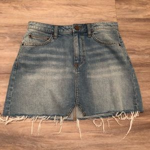 BDG Denim Skirt Size Small